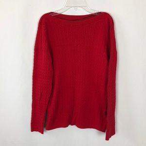 Tommy Hilfiger red sweater G25